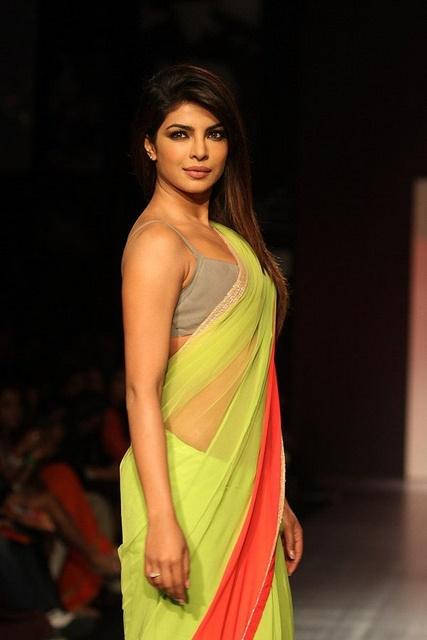Die schöne Bollywood-Schauspielerin Priyanka Chopra