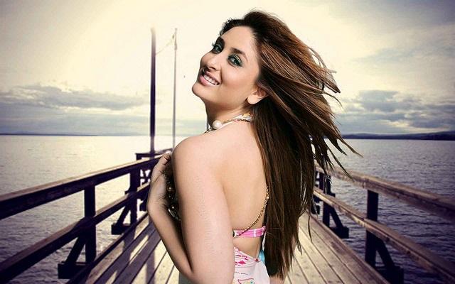 Die schöne indische Bollywood-Schauspielerin Kareena Kapoor