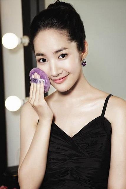 Die hübsche südkoreanische Schauspielerin Park Min-young