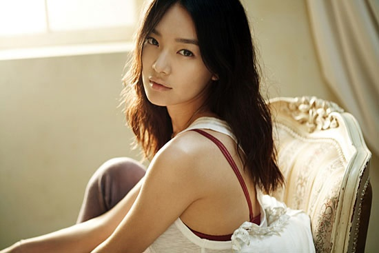 Die wunderschöne südkoreanische Schauspielerin Shin Min-a