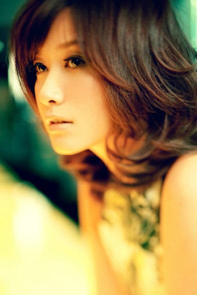 Die schöne chinesische Schauspielerin, Filmdirektorin und Bloggerin Xu Jinglei